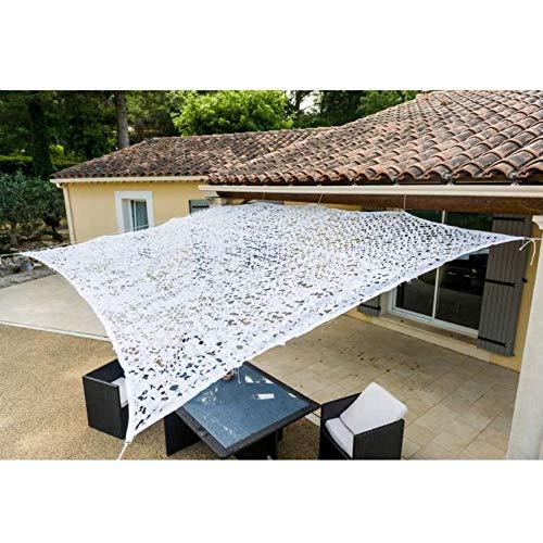 Werkapro 10105 Zonnezeil van polyester, rechthoekig, voor balkon, terras en tuin