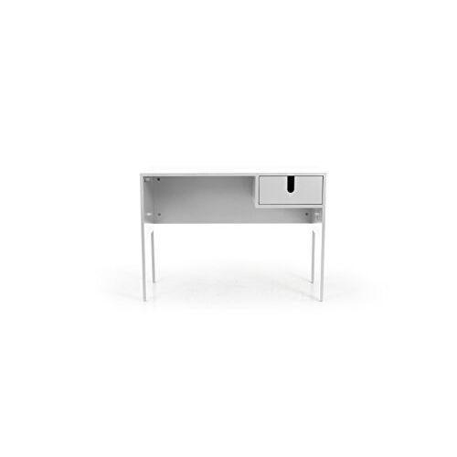 TENZO Uno Designer bureau, 75 x 105 x 50 cm (h x b x d), wit, 105 x 50 x 75 cm