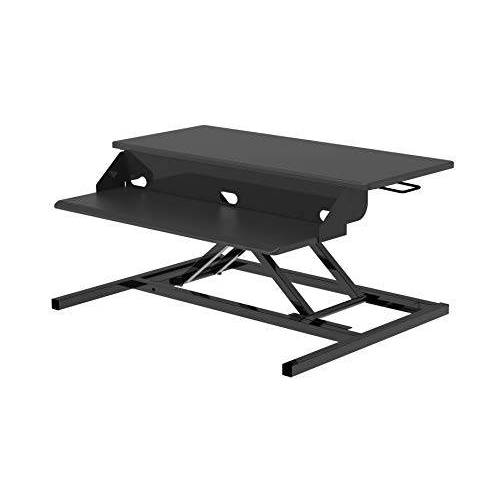 LUXOR DC-PRO32-B Sit-Stand Werkplek, zwart, één maat