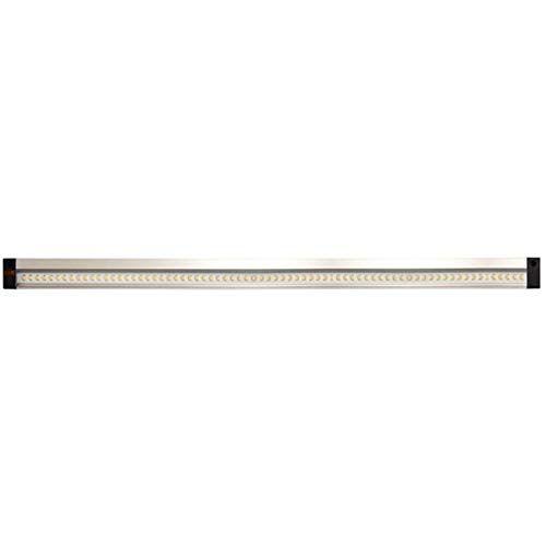 Müller-Licht LED verzonken lamp Balic Sensor DIM 50 cm veelzijdig inzetbaar bijvoorbeeld in de keuken, in laden of in kasten 8 W 4000 K aluminium zilver