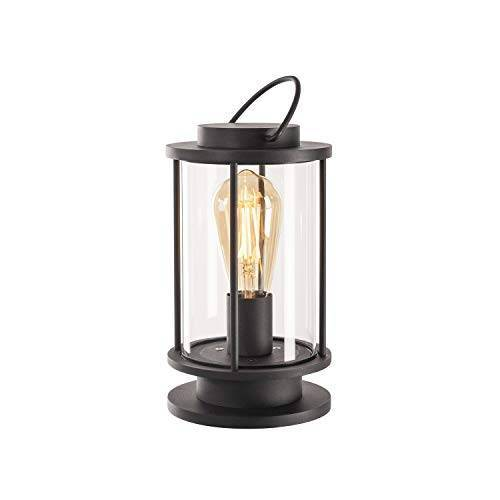 SLV Tafellamp PHOTONIA / LED buitenverlichting voor tuin, terras, balkon / E27 IP44 60,0 W antraciet