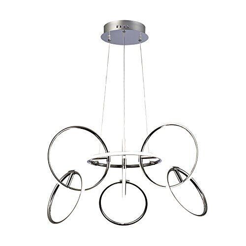 Mantra plafondlamp, chroom