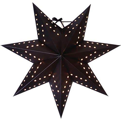 Star Bobo papieren ster, papier, zwart