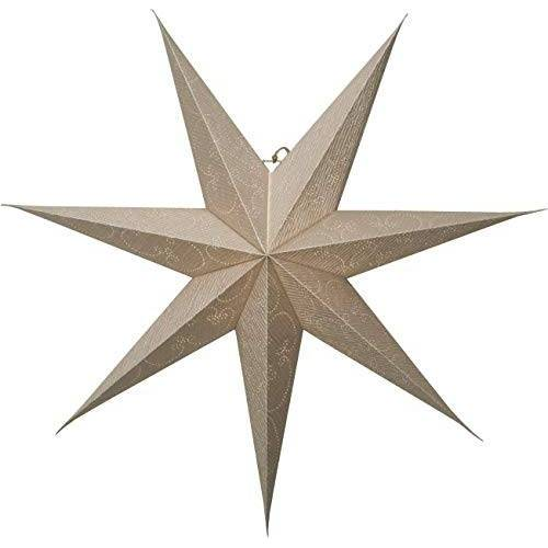 Star papieren ster, papier, goud