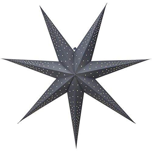 Star papieren ster, papier, blauw.