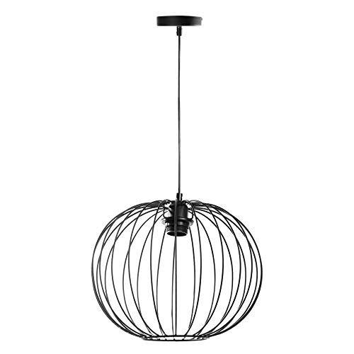 LUM&CO Hanglamp, Metaal, Zwart