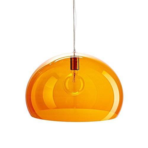 Kartell Small Fl/Y, ophanglamp, oranje albums