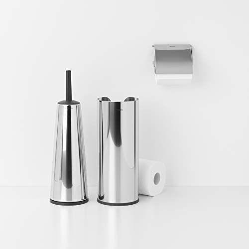Brabantia ReNew Toiletaccessoires, set van 3 Brilliant Steel