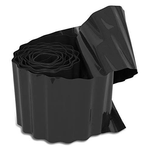 Windhager Gazonrand, gazonrand, bloembedrand, maairand, antraciet, 500 g/m², 9 m x 20 cm, 06413