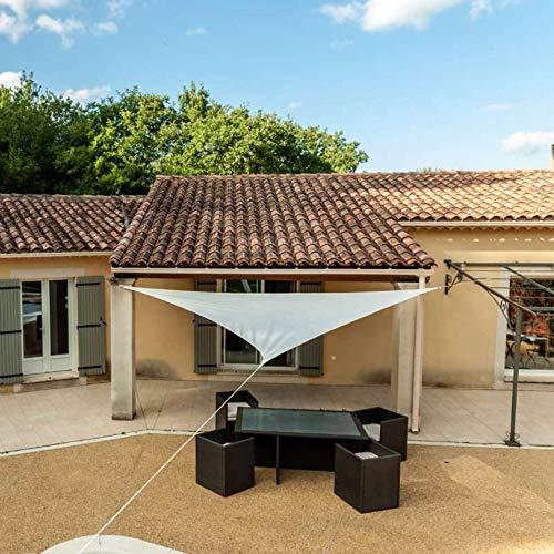 WerkaPro g/m2 11116 Luifel met gebroken blad, 160 g/m², polyester, hoekig, 3,6 m, voor balkon, terras en tuin