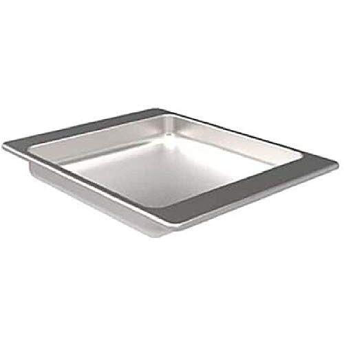 barbecook BBQ grillschaal vet-druppelschaal toebehoren voor grill-spies, zilver, 43x35x51 cm