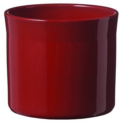 Soendgen Keramik Bloempot, Miami, bordeaux, 15 x 15 x 13 cm, 0525/0015/1582