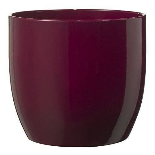 Soendgen Keramik Soendgen keramische bloempot, Basel Fashion 27 x 27 x 26 cm cyclam
