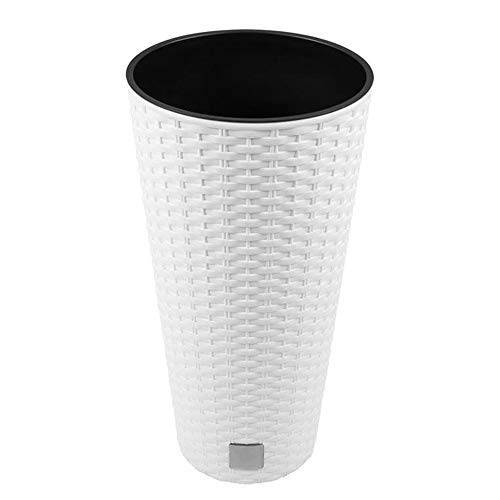 Prosperplast bloempot 40x76,3 wit