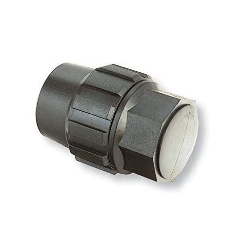 Abrisa Firring Plug voor irrigatie pijp, zwart