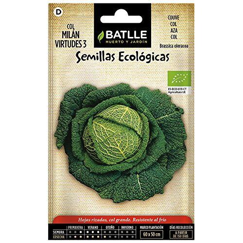 Batlle Biologische zaden warsingkool virtudes 3 (225 zaden biologisch)