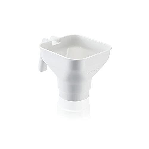 Leifheit ComfortLine-Serie, inmaaktrechter van hoogwaardig kunststof, jam trechter Ø 82 mm, vaatwasmachinebestendig, inmaakhulp met handvat voor inmaken en zelfgemaakte