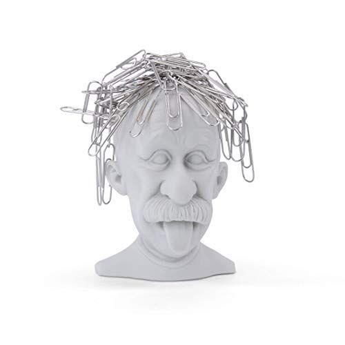 MUSTARD Papercliphouder, Koper, Grijs, 36 cm