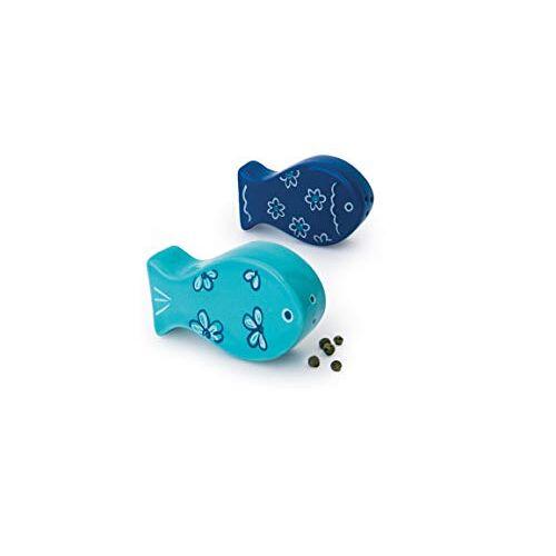 Excelsa Ocean Sale/Peperstrooier, keramiek, lichtblauw, 2 stuks
