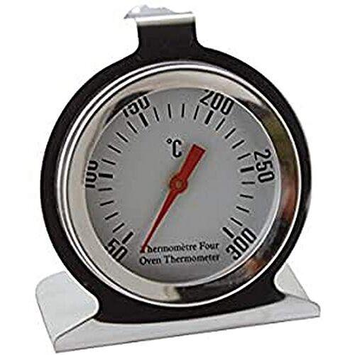DE BUYER Oventhermometer, roestvrij staal, zilver, 27,9 x 20,1 x 10,9 cm