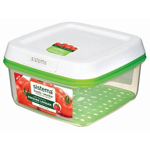 Sistema 1007669 FreshWorks grote vierkante opslagcontainer 2,6 l