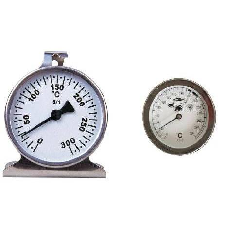 Koch 13004 Keukenthermometerset oven en friteusenthermometer, 2-delig