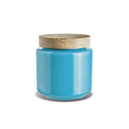 Holmegaard Bonboniere 16.3x16.3x17.5 turquoise