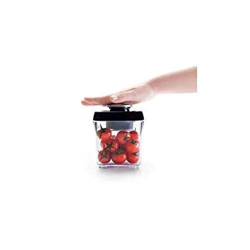 IBILI 788720 Vacuüm-opslagcontainer voor levensmiddelen, stapelbaar, 2.000 ml