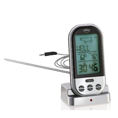 Küchenprofi , braadthermometer, professioneel, vleesthermometer, digitaal in zilver, roestvrij staal