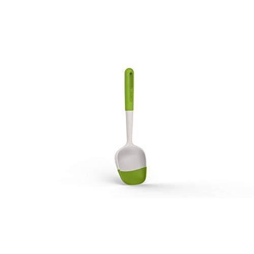 Lékué 0205400V10U150 sauzenlepel Smart Tool in groen, siliconen, 31,6 x 10,2 x 3,4 cm