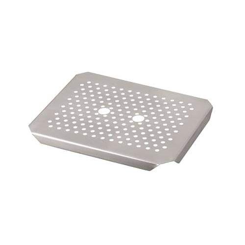 Pentole Agnelli GND12000 Gastro norm bakplaten en pannen afvoerplaten, afmeting 26,5 x 32,5 cm, zilver