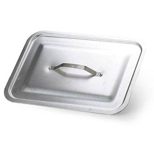 Pentole Agnelli Agnelli deksel rechthoekig voor roosters, aluminium BLTF, zilver, aluminium, zilver, 40x29 cm
