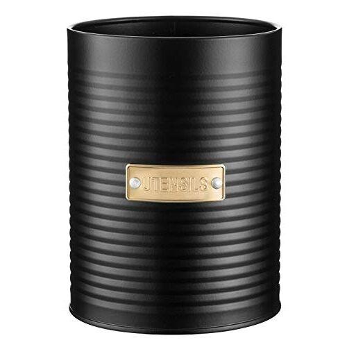 Typhoon OTTO collectie, zwart, 1,4 liter gebruiksvoorwerpen, staal