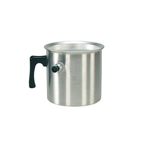 Karl Kruger Aluminium Waterketel, 2 l, Aluminium, Zilver, 2 Liter