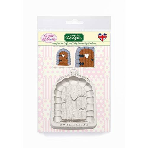 Katy Sue Designs Betoverde deur siliconen mal voor taart decoratie, ambachten, cupcakes, suikerwerk, snoepjes, chocolade, kaarten maken en klei, voedselveilig goedgekeurd, gemaakt in het Verenigd Koninkrijk