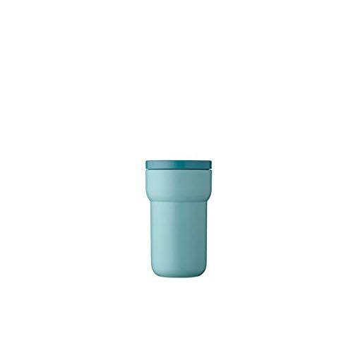 Mepal Ellipse Reisbeker, 275 ml, Nordic green, togo koffiemok, theekopjes, lekvrij, compact formaat, past in bijna alle bekerhouders, polypropyleen, Ø84 x 146