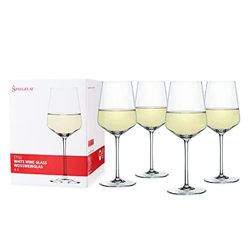 Spiegelau & Nachtmann 4670182 4-Delige Set Wittewijnglazen, Kristalglas, 440 ml
