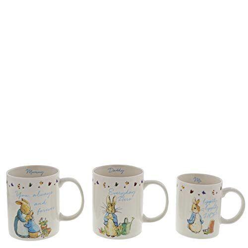 Beatrix Potter A29833 bekerset, BONE CHINA