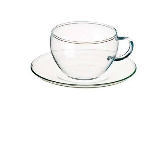 Bohemia Cristal Thee- en koffiekop, borosilicaatglas, helder, 143 mm, 4
