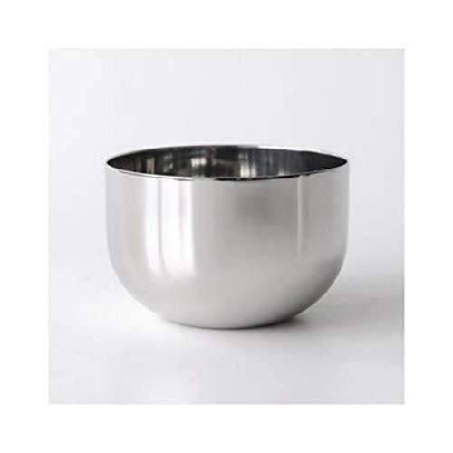 Alessi Bauhaus suikerpot van roestvrij staal, glanzend gepolijst, 7,3 cm
