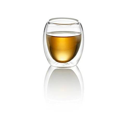 TEASOUL glazen beker dubbele laag 80 ml
