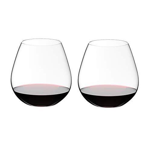 RIEDEL roodwijnglas-set, 2-delig, voor rode wijn zoals Pinot Noir en Nebbiolo, 690 ml, kristalglas, O Wine Tumbler, 0414/07