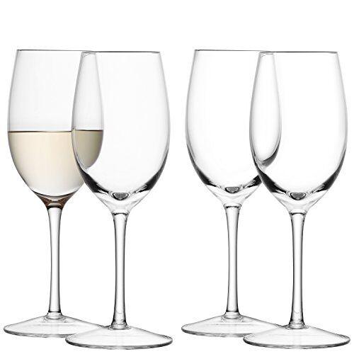 L.S.A. Wijnglas Wit, Glas, Helder, 260 ml