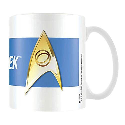 Star Trek Keramische mok, wetenschappelijk blauw
