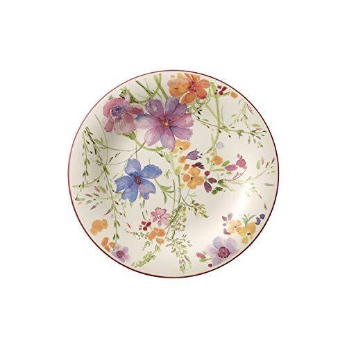 Villeroy & Boch Mariefleur 10-4100-2640 Kleurrijk Ontbijtbord Basic, 21Cm, Meerkleurig