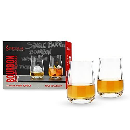 Spiegelau & Nachtmann , 2-delige single barrel bourbon whiskyglas-set, speciale glazen, 4460166