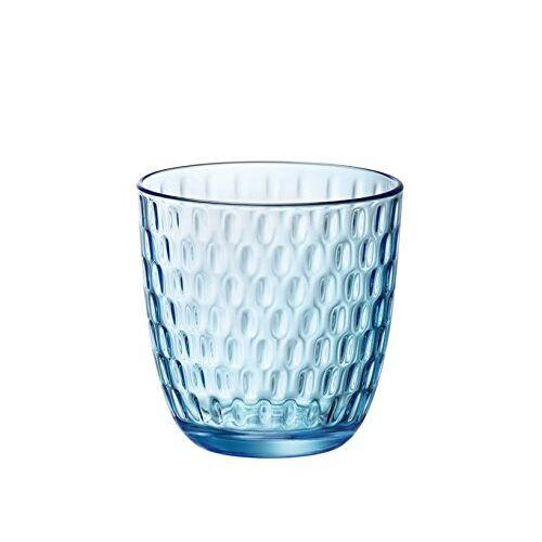 Bormioli Rocco Slot bekerset, blauw, 6 stuks