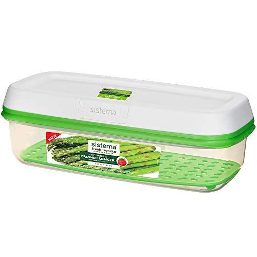 Sistema 1007668 FreshWorks rechthoekige opslagcontainer 1,9 l