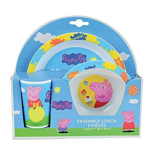 Fun House Peppa Wutz : Baby servies set kinderservies