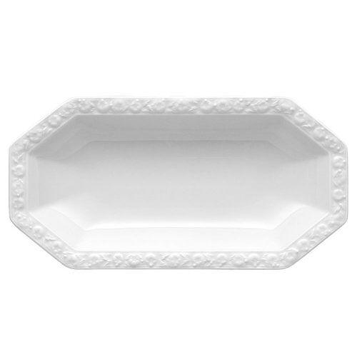 Rosenthal 10430-800001-15323 Maria bijlagenplaat 25.5 x 13 cm, wit